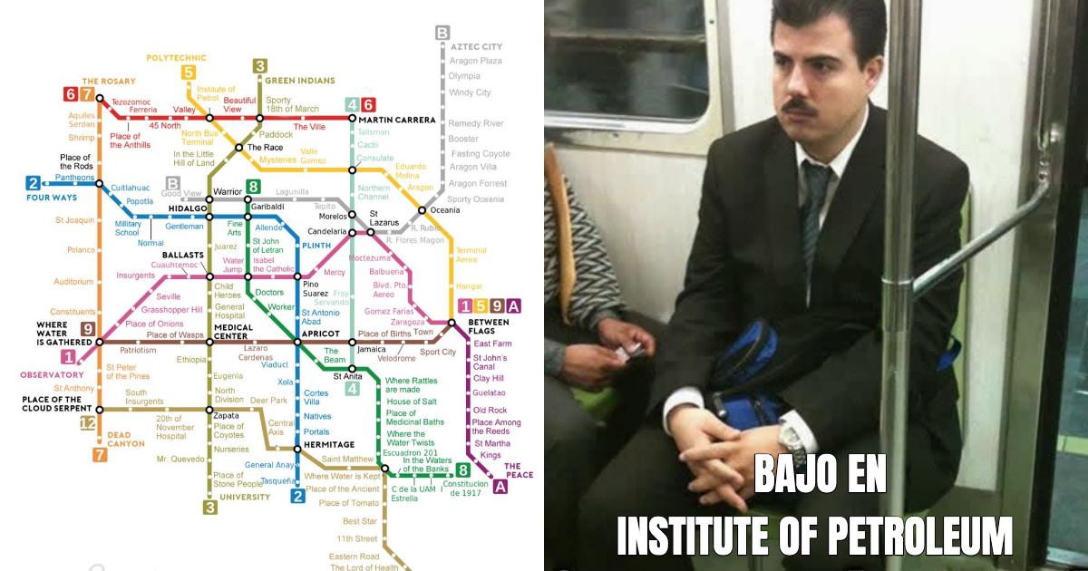 Mapa Metro CDMX, Metro CDMX, Inglés, Mapa Inglés Metro CDMX, Metro DF, Metro Mapa