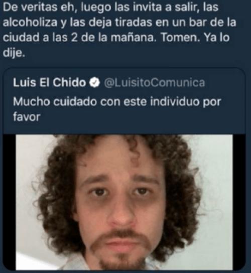 Revelan infidelidades de Luisito Comunica a su novia Chule