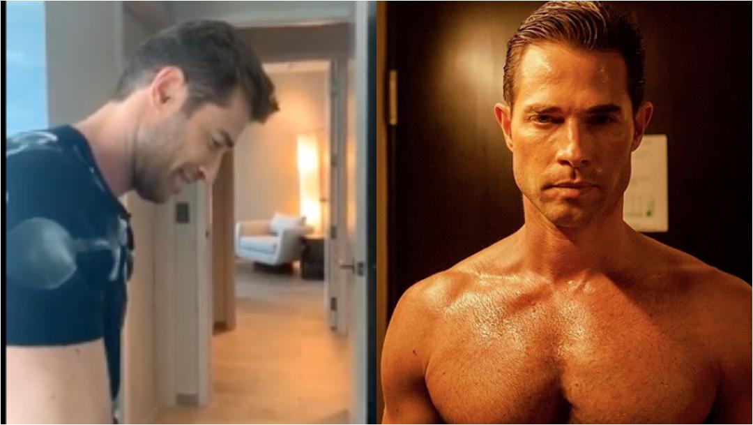 Sebastian Rulli planchando su ropa es lo más sexy