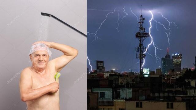 Bañarse o lavar trastes es peligroso en tormentas eléctricas