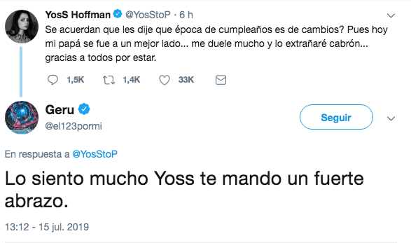 Muere el papá de YosStop y Debrayanshow