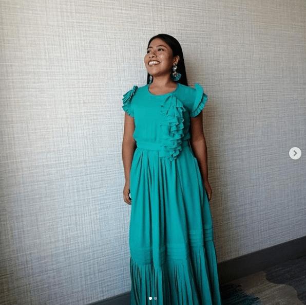Yalitza Aparicio sorprende sin maquillaje