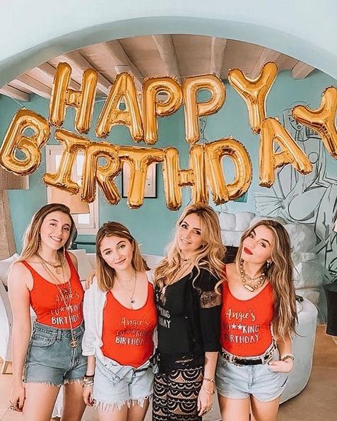 Angélica Rivera celebra cumpleaños 50 junto a sus hijas en Instagram