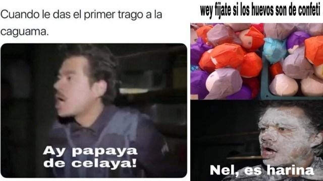 Origen de meme Ay Papantla Tus Hijos Vuelan y Nel, es harina