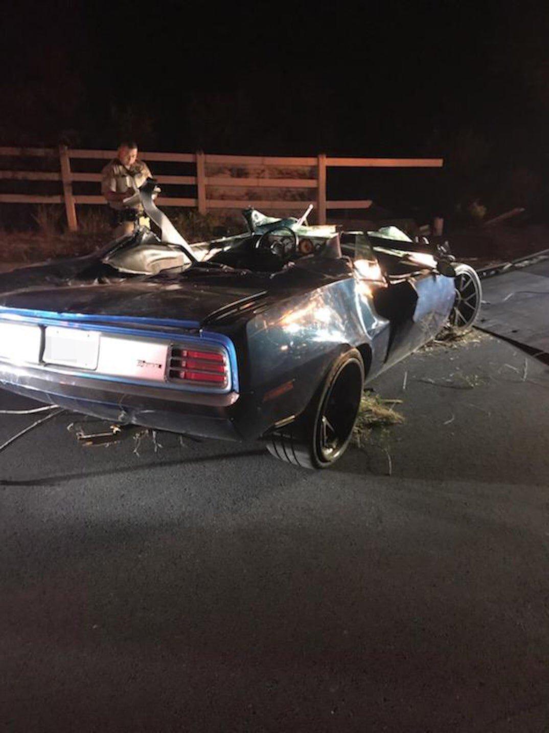 Kevin Hart herido tras terrible accidente automovilítstico