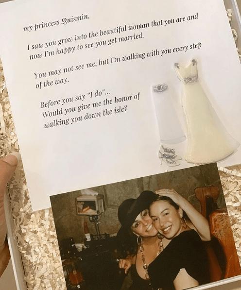 Chiquis Rivera revela carta que le dejó Jenni Rivera antes de morir