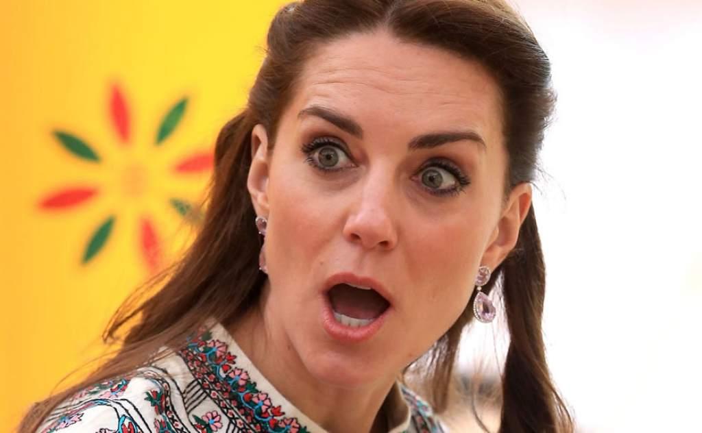Princesa Charlotte revela que Kate Middleton está embarazada por cuarta vez