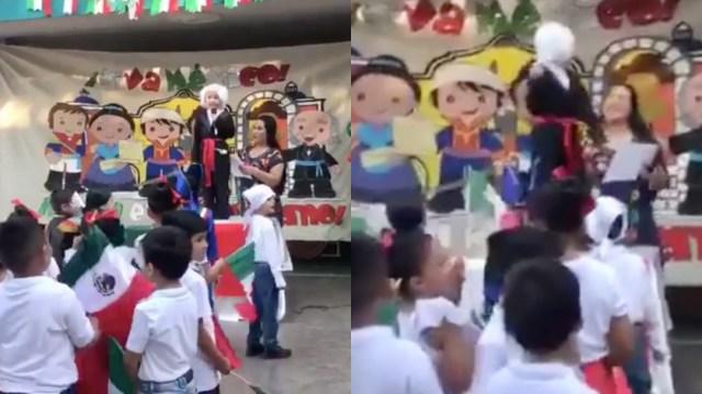 Niño, Grito De Independencia, Niño Grita Viva México, Grito De Independencia Para Niños, Errores Del Grito De Independencia, Ceremonia Escolar Grito De Independencia