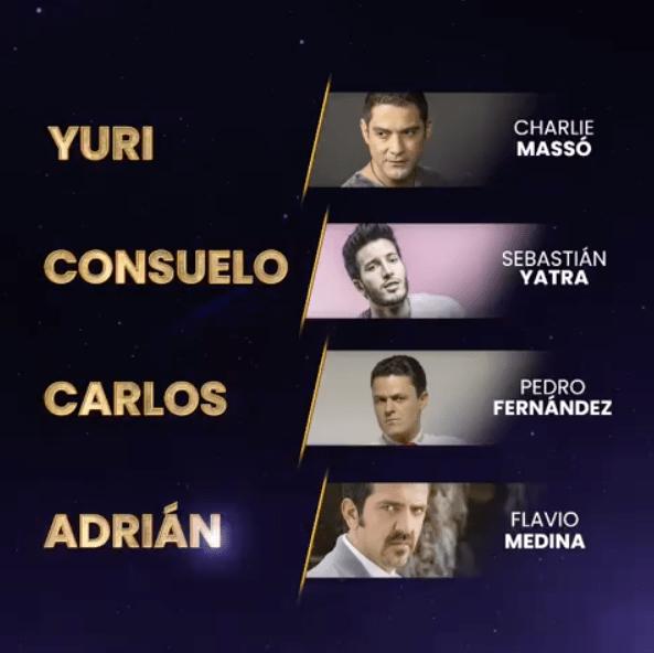 Marciano es Pedro Fernández en ¿Quién es la máscara?