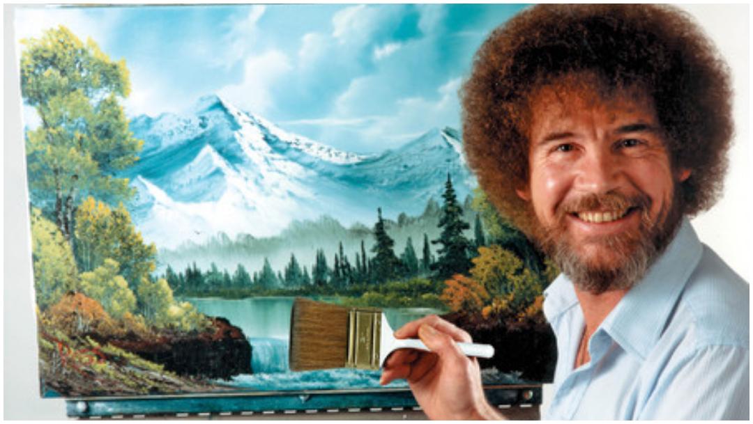 Cuántas pinturas hizo Bob Ross