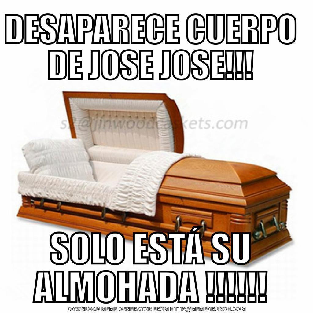 Memes de la reconciliación de los hijos de José José