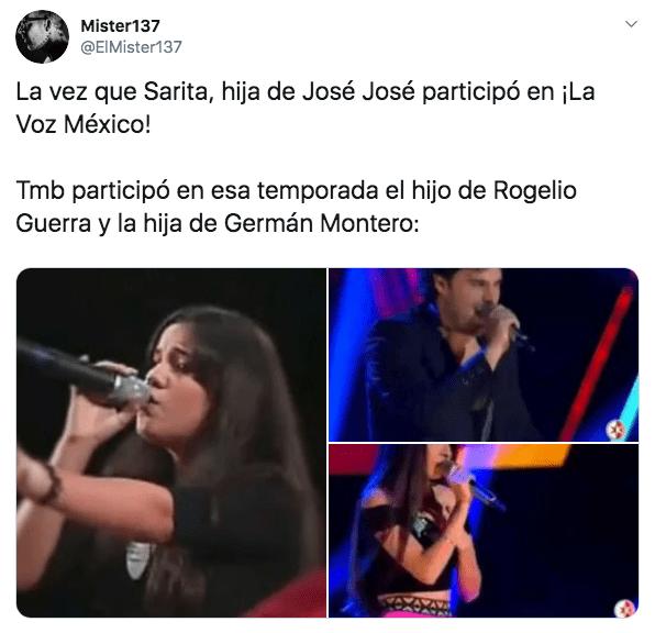 Sarita Sosa audicionó en La Voz México pero la rechazaron