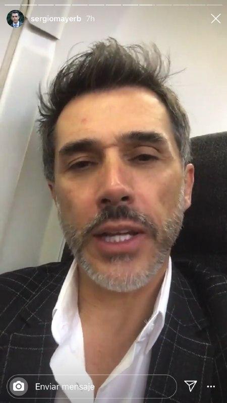 Sergio Mayer dice que cenizas de José José fueron recibidas por las cenizas del Popocatépetl