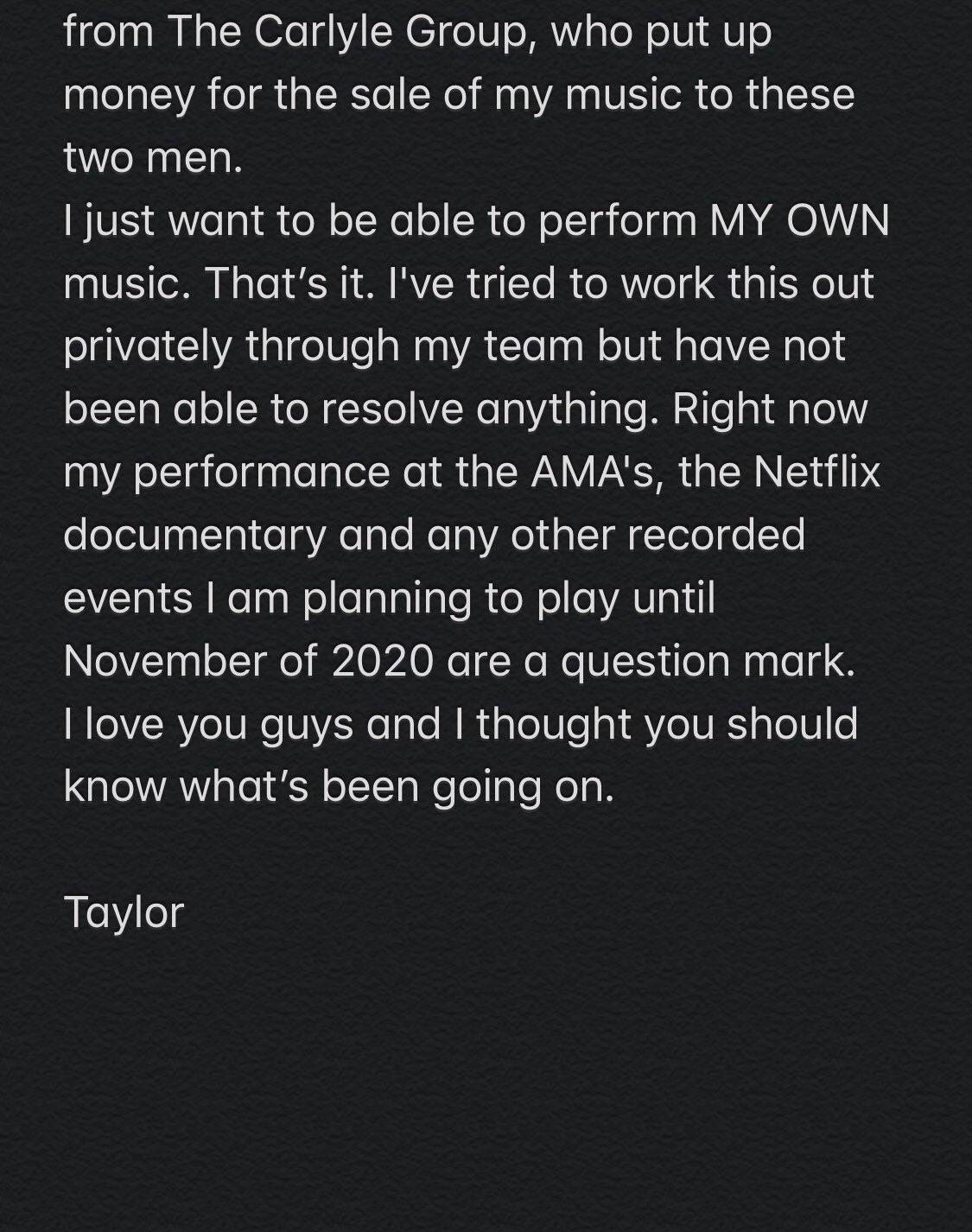 Pleito legal dejaría a Taylor Swift fuera de los American Music Awards