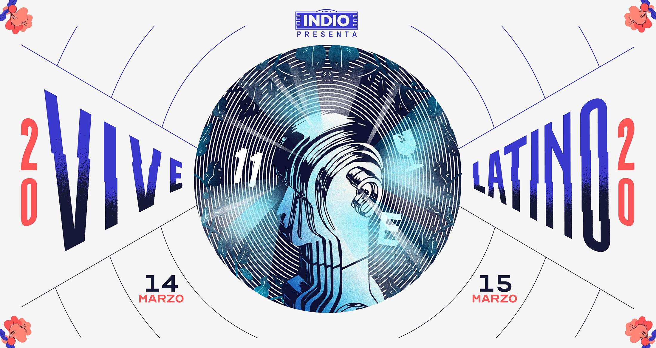 Los carteles con pistas y los headliners de Vive Latino 2020