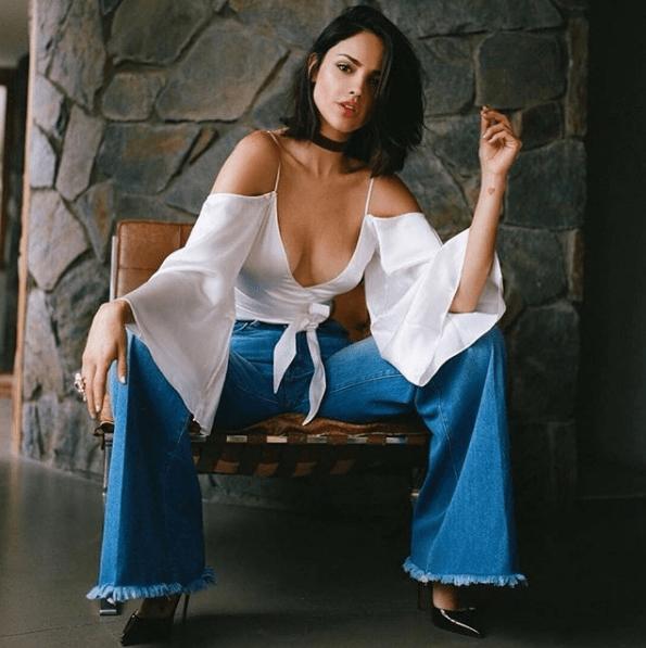Filtran fotos de Eiza González con moretones en el cuerpo