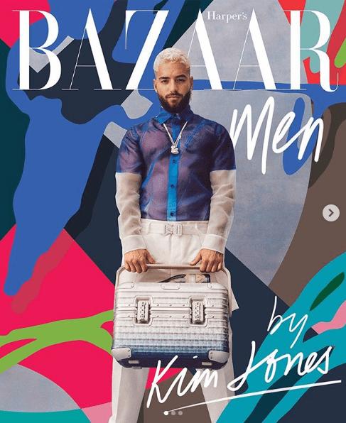 """Maluma es nombrado """"Hombre del año en la moda"""" por la revista GQ"""
