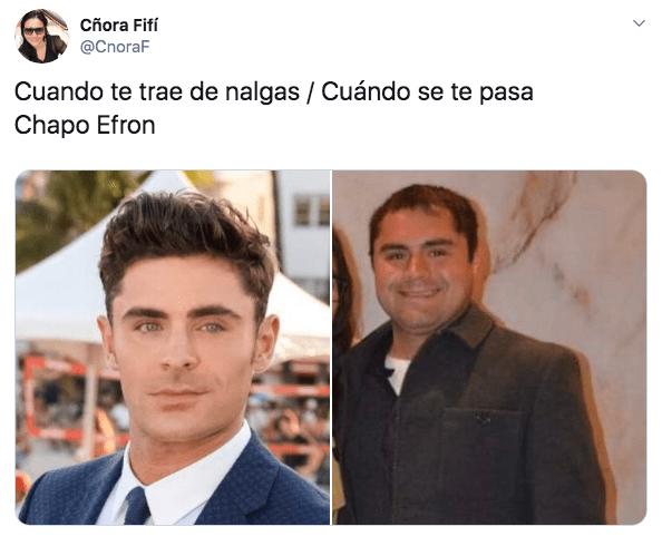 Quién es el Chapo Efron, estos son sus mejores memes
