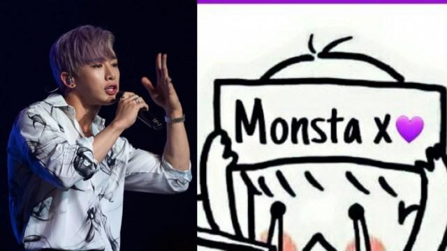 Wonho deja MONSTA X y se despide con carta para Monbebé