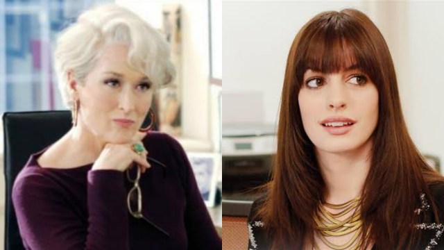The Devil Wears Prada Cast, Miranda Priestley Andy Sachs
