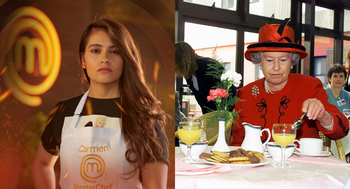 Carmen Miranda de MasterChef cocinará para Reina Isabel II