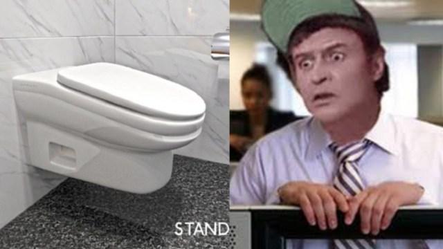 El baño incómodo que no deja estar más de 5 minutos sentado