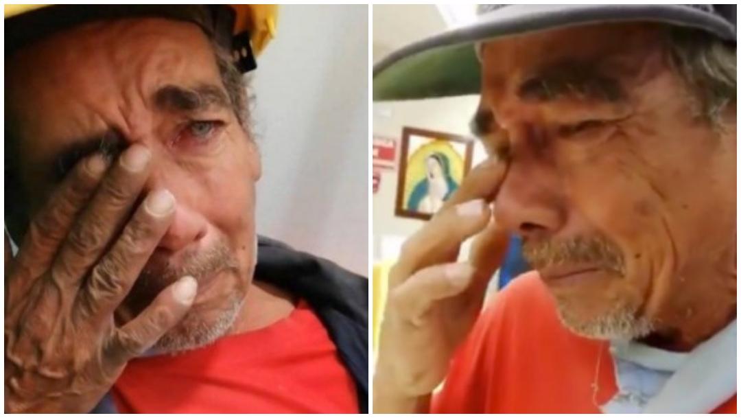 Don Beto: el abuelito estafado que ayudaron en redes