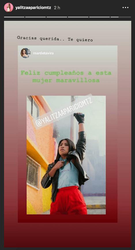 Felicitaciones de Yalitza Aparicio por su cumpleaños