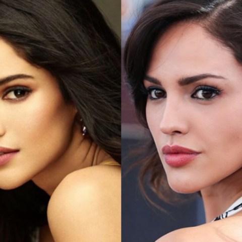 Eiza González es idéntica a Miss India, fotos lo prueban