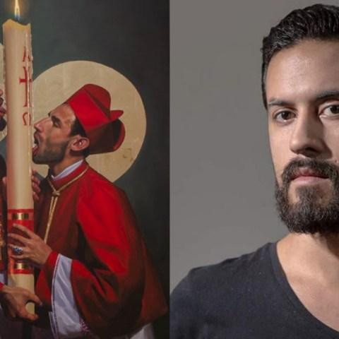 """Obras de Fabián Cháirez, el creador del """"Zapata gay"""""""