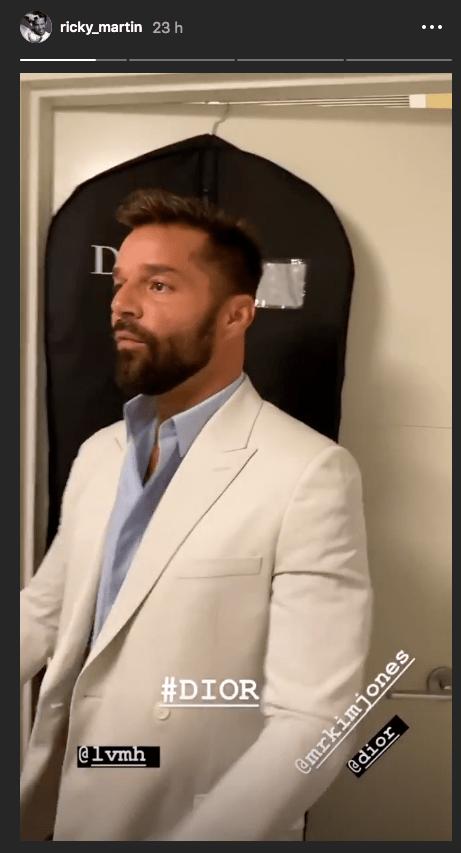 "Ricky Martin presume su ""pack"" en Instagram"