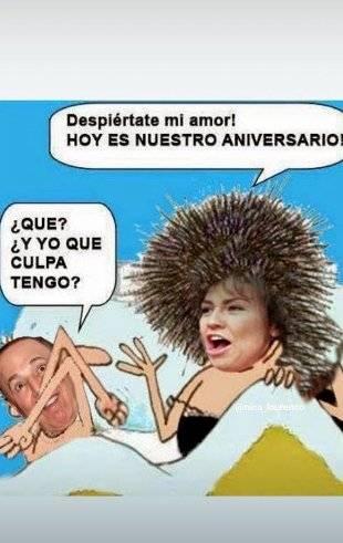 Thalía celebra aniversario de bodas con Tommy Mottola