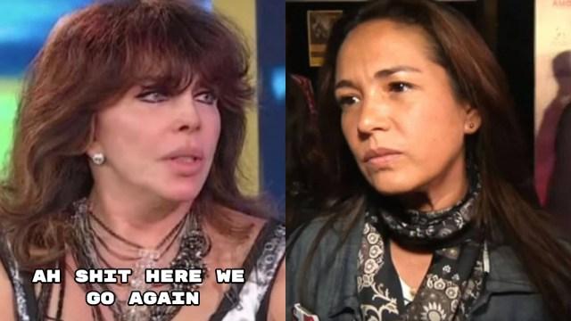 Yolanda Andrade pide a Verónica Castro regresar a televisión