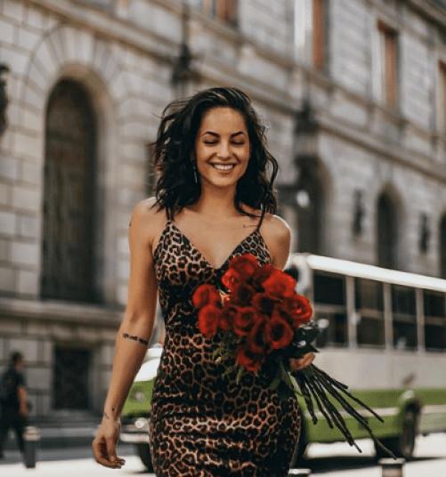 Bárbara Mori cabello largo en Instagram