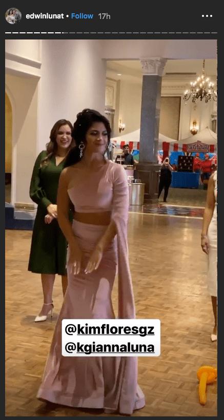 Bautizo de la hija de Edwin Luna y Kimberly Flores