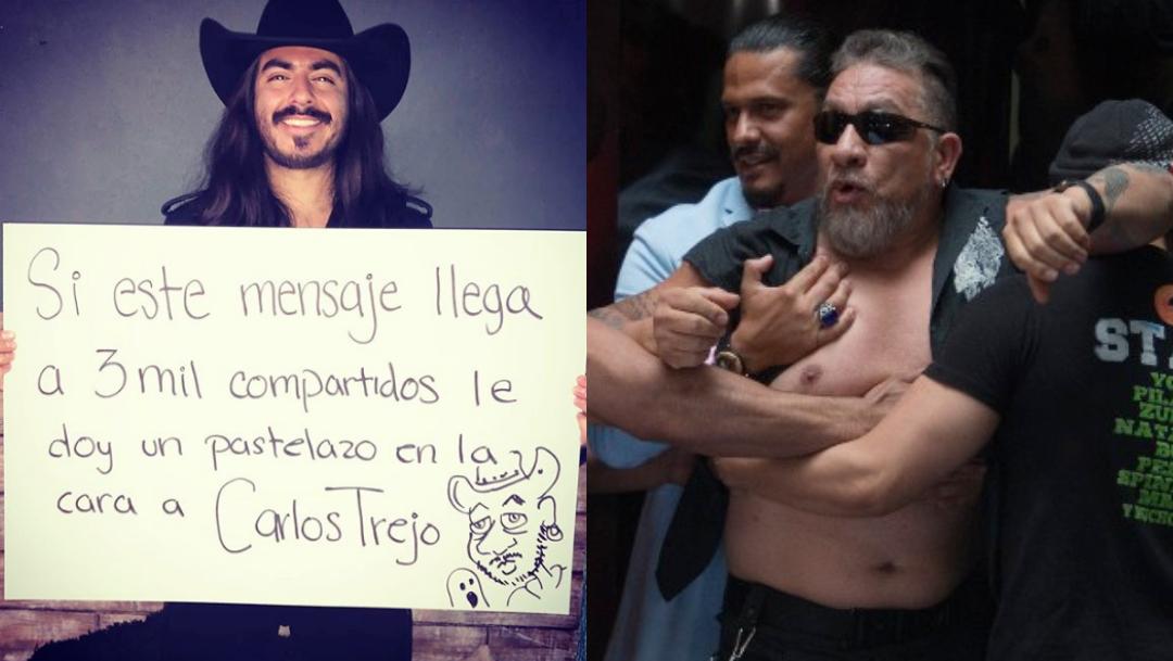 Carlos Trejo y Rey Grupero se pelean en video