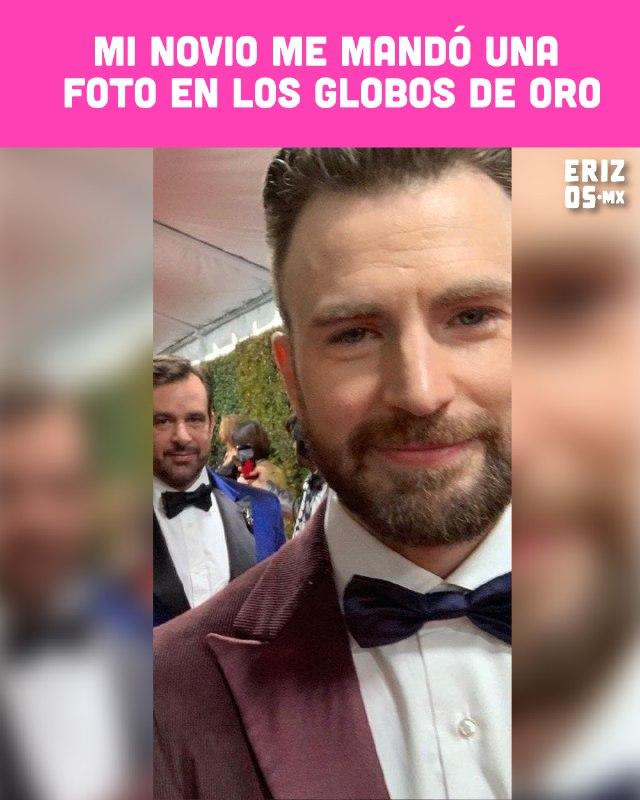 Chris Evans globos de oro 2020
