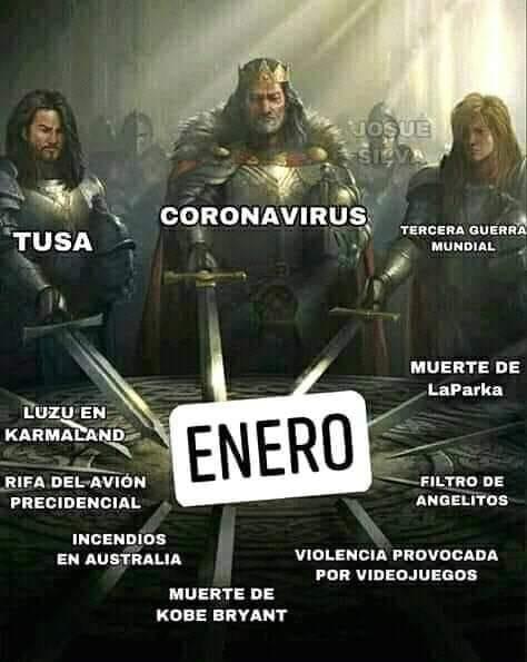Memes de enero largo 2020