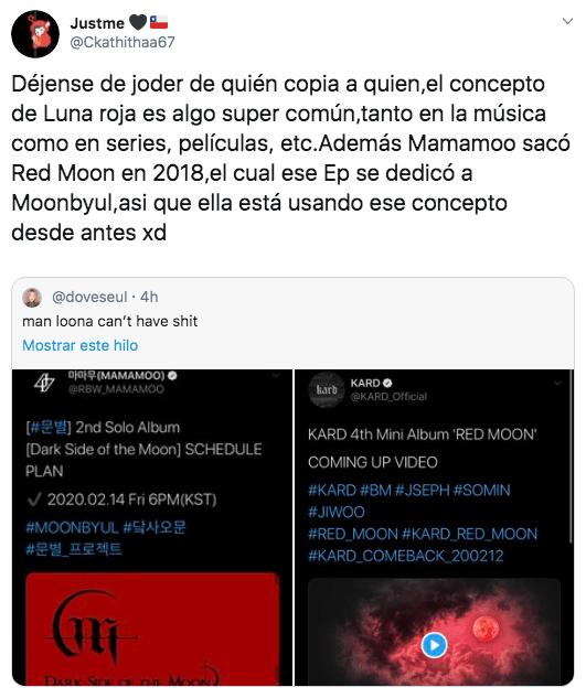 Moon Byul anuncia su álbum en solitario