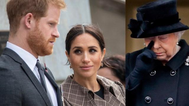 Meghan Markle es la gran decepción de la reina Isabel II