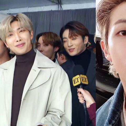 RM habla del odio y críticas que BTS recibe en los Grammys