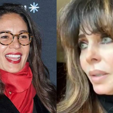Verónica Castro reaparece tras escándalo con Yolanda Andrade