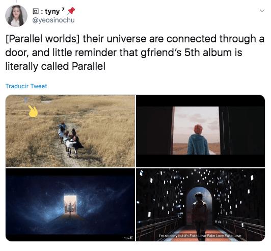 Comeback de GFRIEND tiene conexión con BTS?