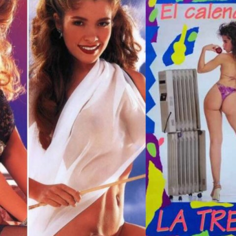 Calendarios de Sergio Andrade con que denigró a Gloria Trevi