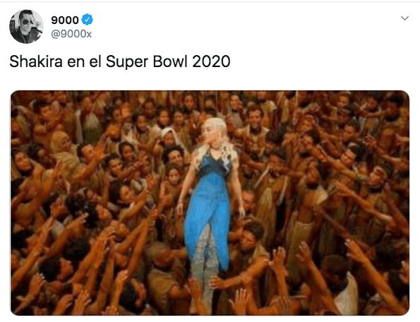 memes medio tiempo super bowl 2020