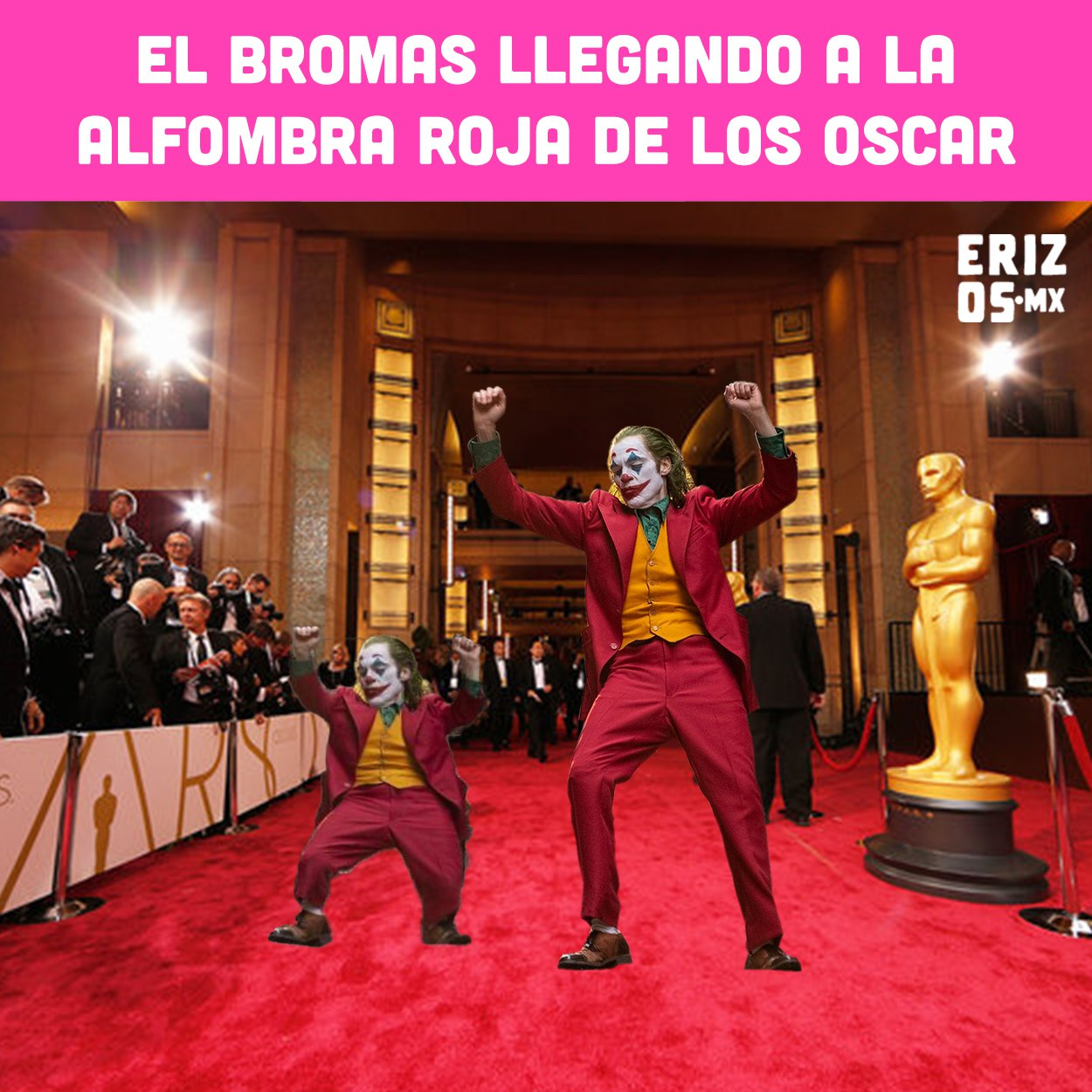 Memes Oscar 2020 alfombra roja