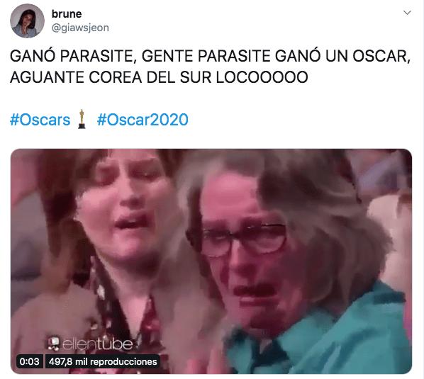 meme oscar 2020 parasite