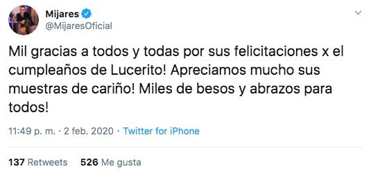 Lucerito, hija de Lucero, cumple XV años