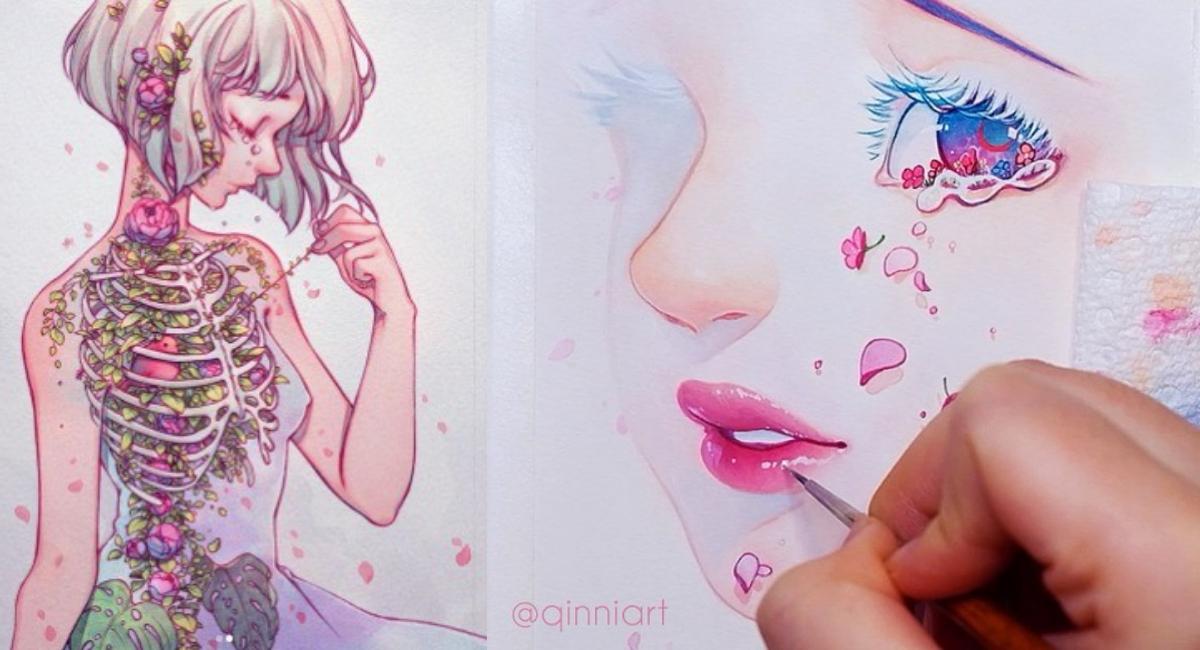 Confirman muerte de ilustradora Qinni Art a causa del cáncer