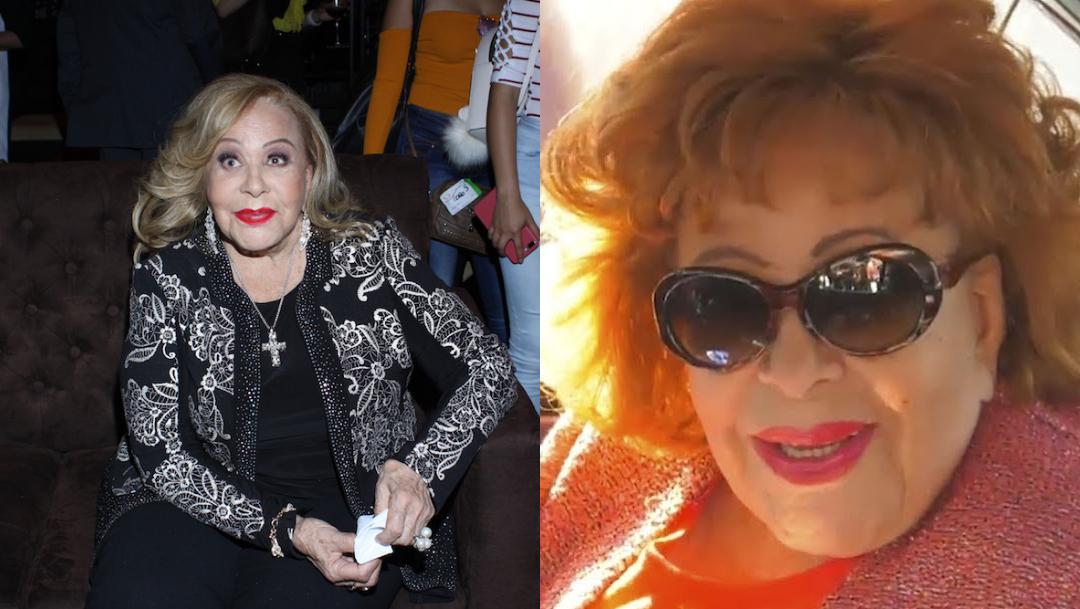 Silvia Pinal es dada de alta del hospital tras cuatro días